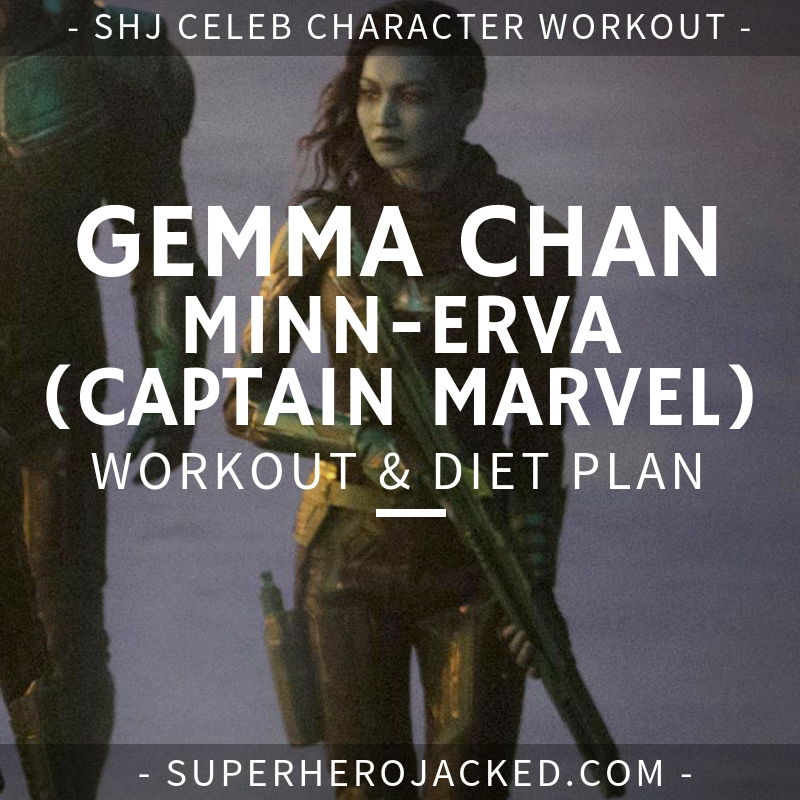 Gemma Chan Minn-Erva Workout and Diet