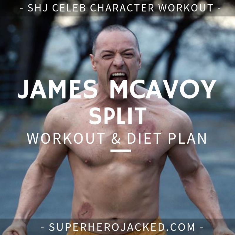 James McAvoy Split Workout