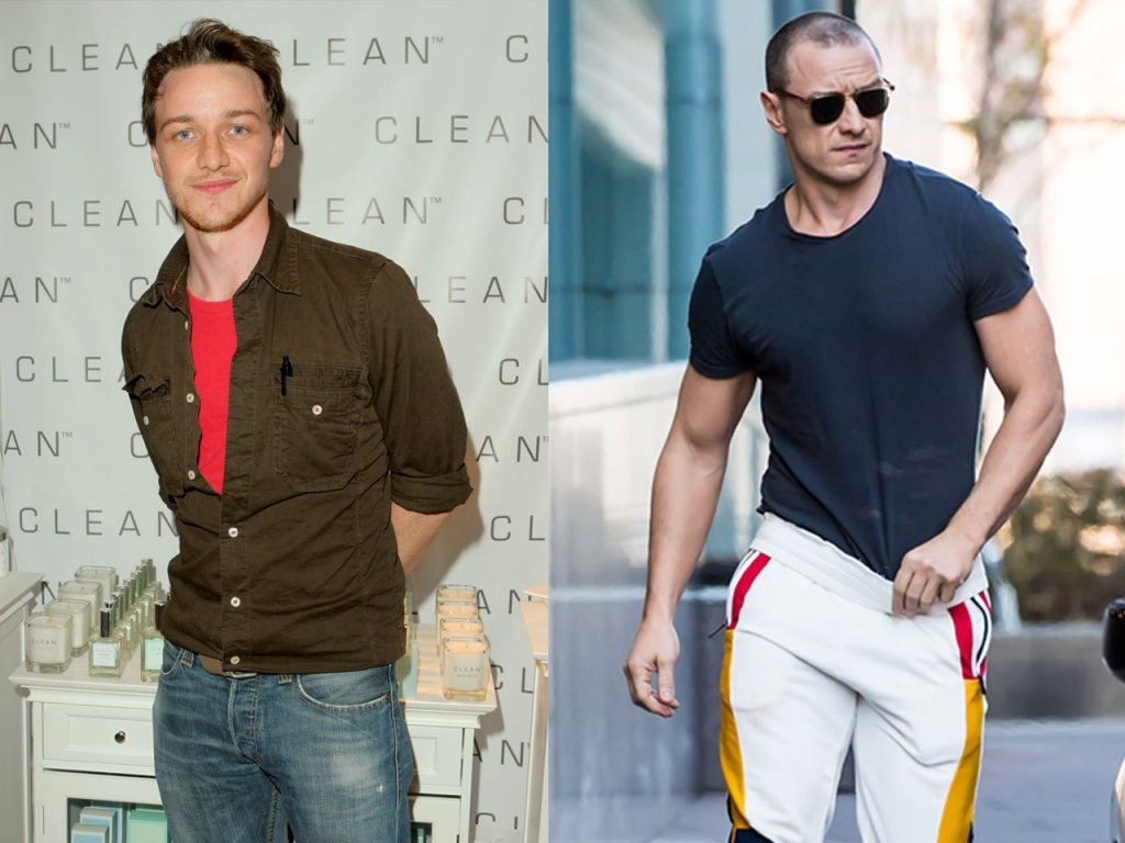 James McAvoy Workout Routine and Diet Plan: Train like