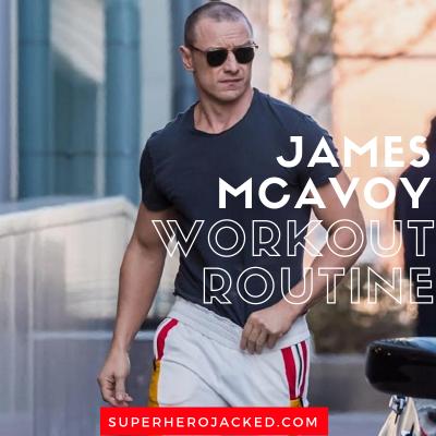 James McAvoy Workout Routine