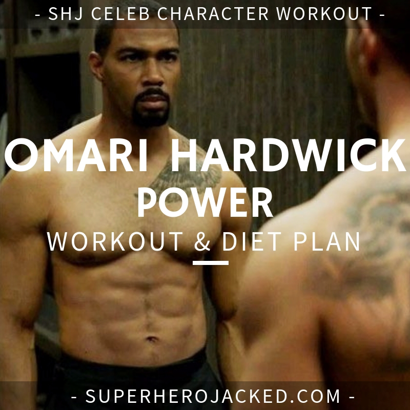 Omari Hardwick Power Workout and Diet