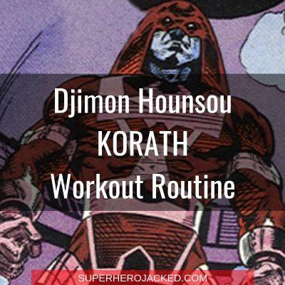 Djimon Hounsou Korath Workout Routine
