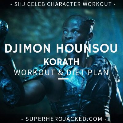 Djimon Hounsou Korath Workout and Diet