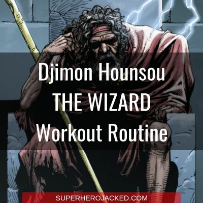 Djimon Hounsou The Wizard Workout Routine