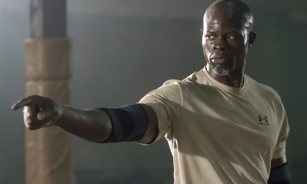 Djimon Hounsou Workout 2