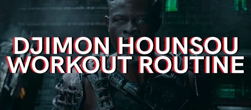 Djimon Hounsou Workout Routine