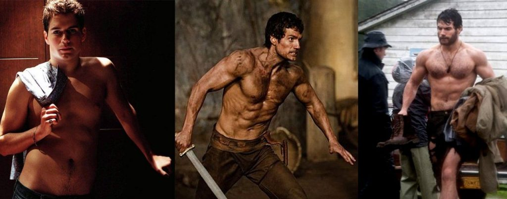Henry Cavill Workout