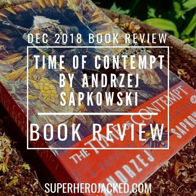 Time of Contempt by Andrez Sapkowski