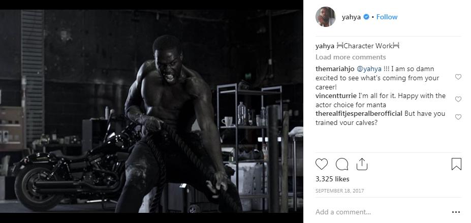 Yahya Abdul-Mateen II Workout 2