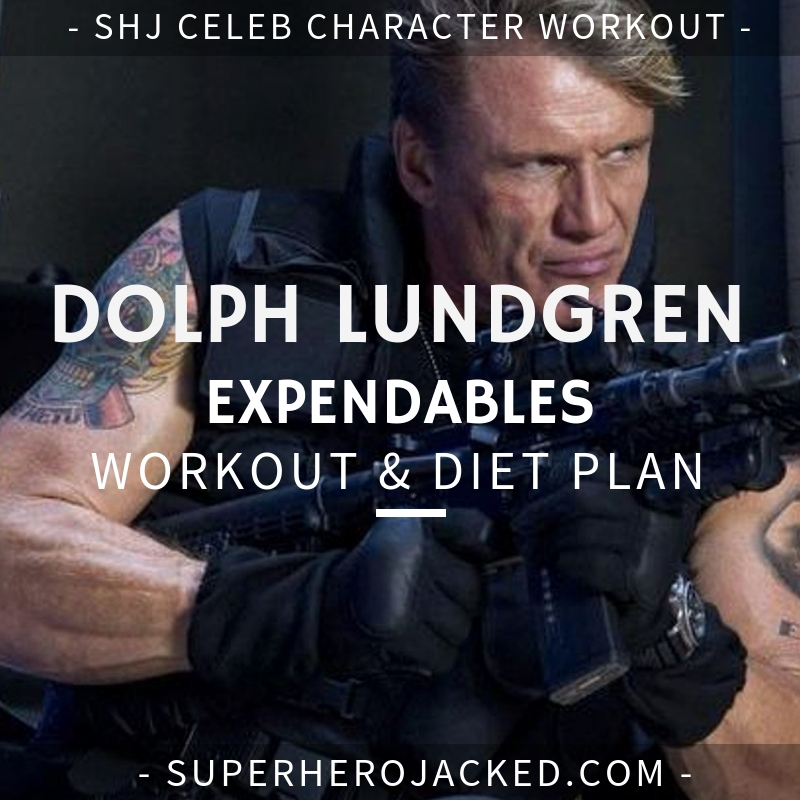 Dolph Lundgreen Expendables Workout and Diet