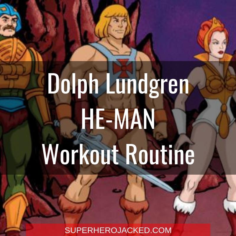 Dolph Lundgren He-Man Workout Routine