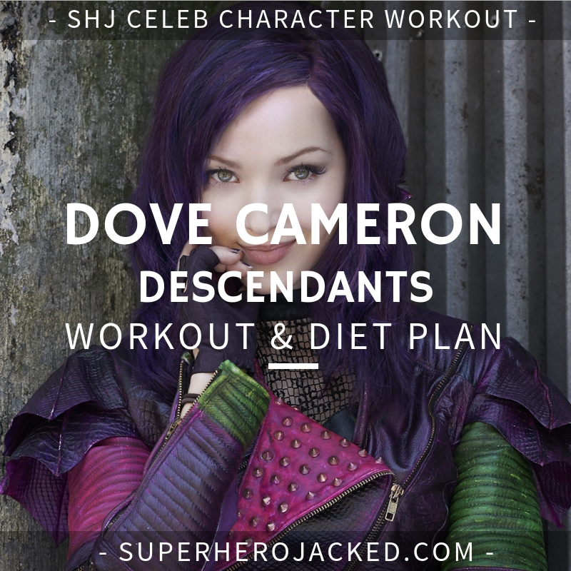 Dove Cameron Descendants Workout and Diet