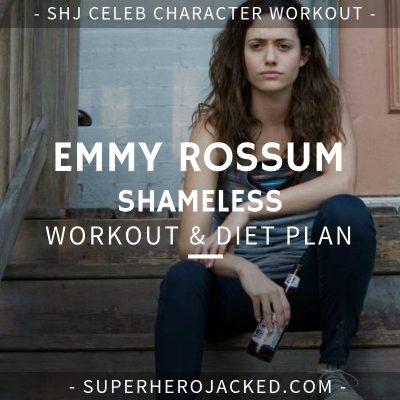 Emmy Rossum Shameless Workout and Diet
