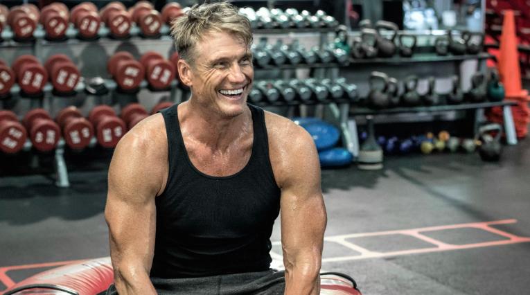 Dolph Lundgren Workout 3