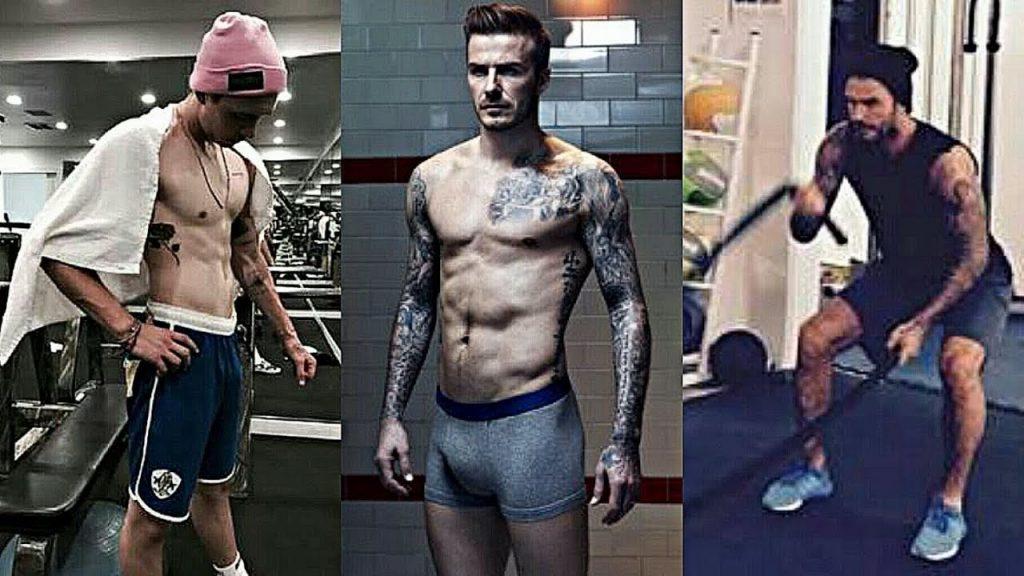 David Beckham Workout 4