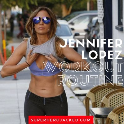 Jennifer Lopez Workout Routine (1)