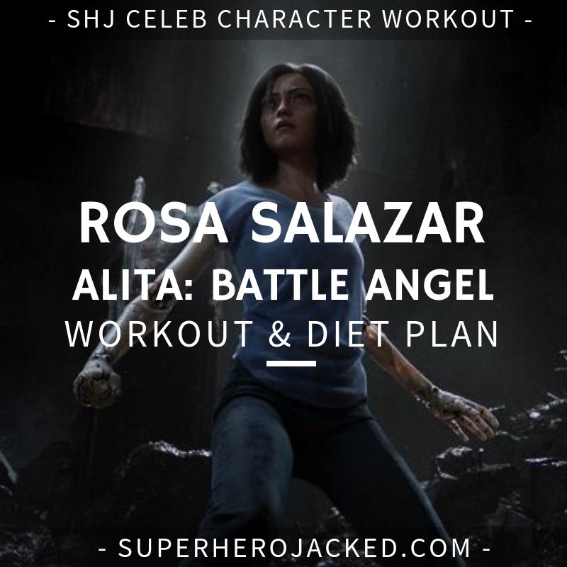 Rosa Salazar Alita Workout and Diet