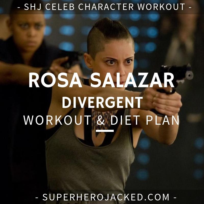 Rosa Salazar Divergent Workout and Diet