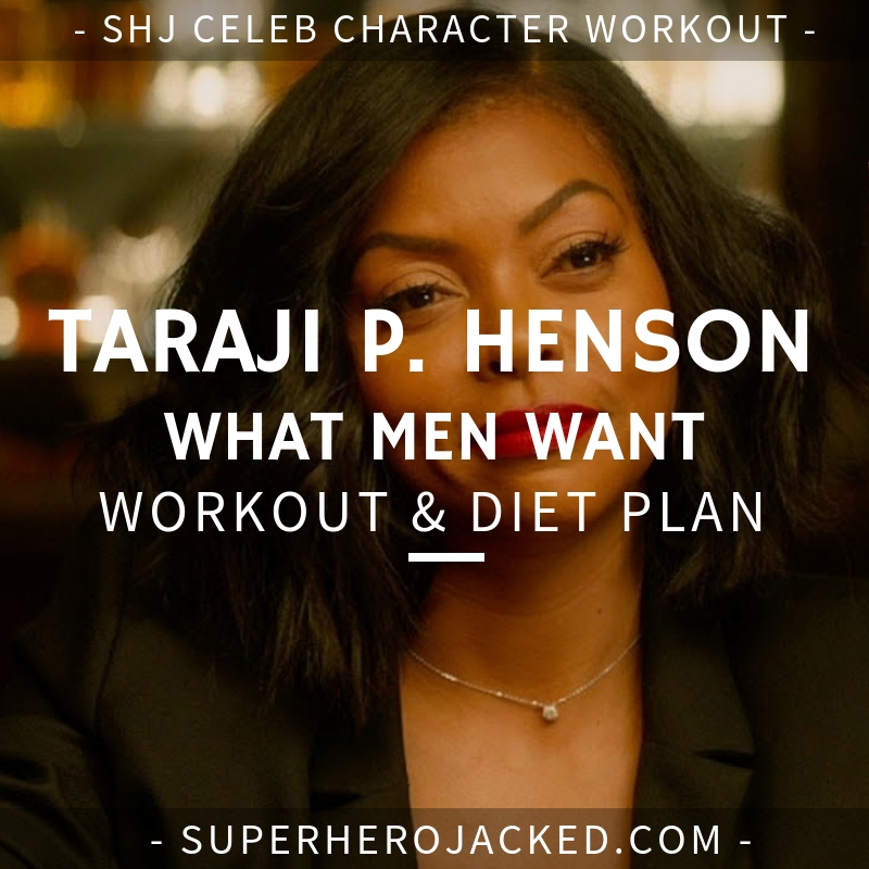 Taraji P. Henson What Men Want Workout and Diet