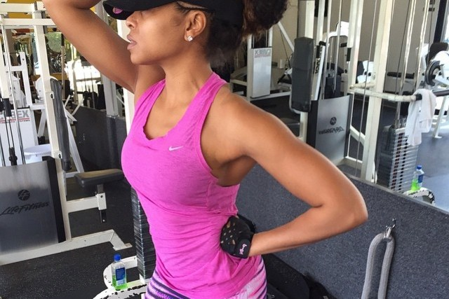 Taraji P. Henson Workout 1