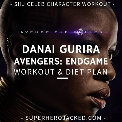 Danai Gurira Avengers_ Endgame Workout and Diet