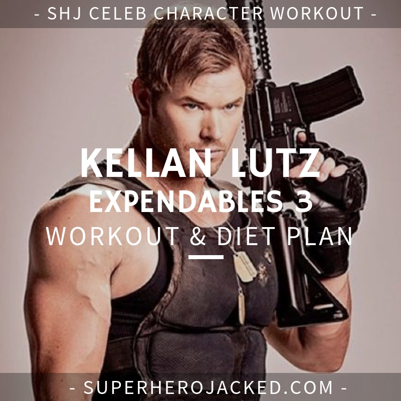 Kellan Lutz Expendables 3 Workout