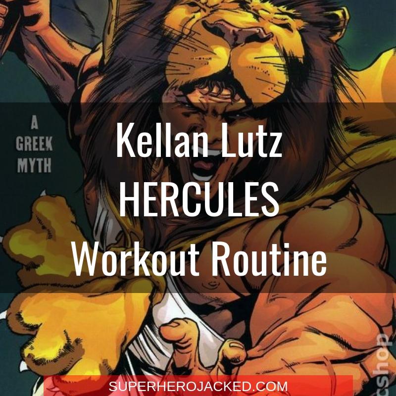 Kellan Lutz Hercules Workout