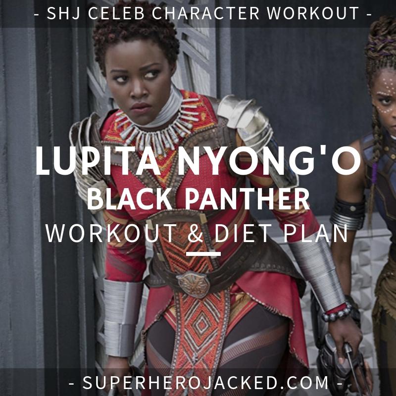 Lupita Nyong'o Black Panther Workout
