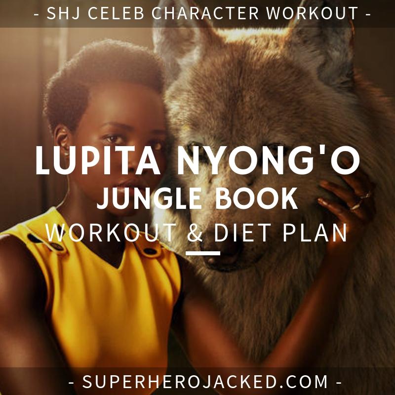Lupita Nyong'o Jungle Book Workout