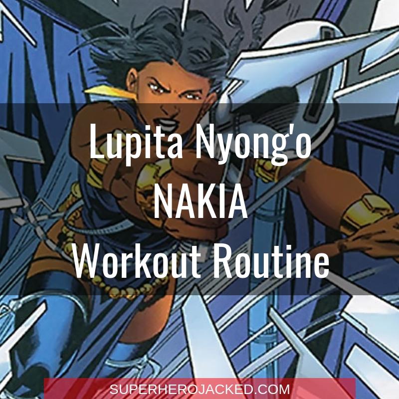 Lupita Nyong'o Nakia Workout
