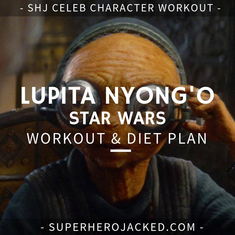 Lupita Nyong'o Star Wars Workout