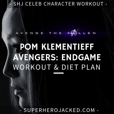 Pom Klementieff Avengers_ Endgame Workout and Diet