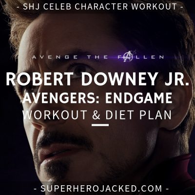 Robert Downey Jr. Avengers_ Endgame Workout and Diet
