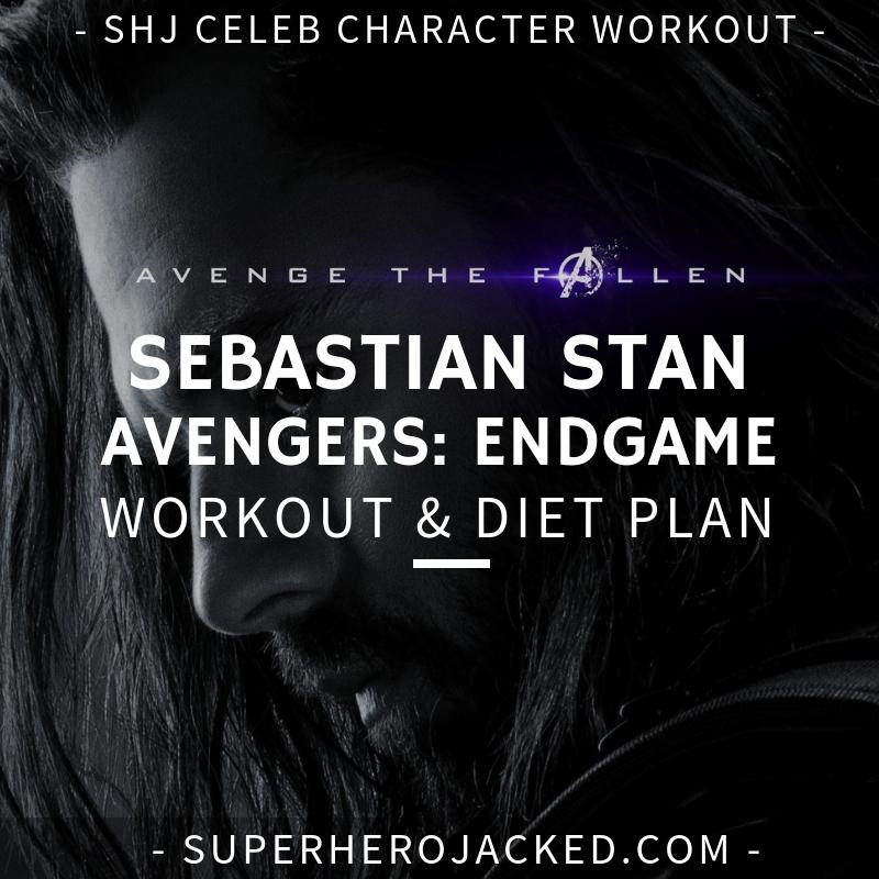 Sebastian Stan Avengers_ Endgame Workout and Diet