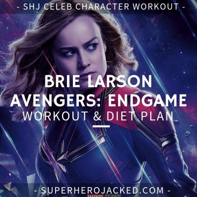 Brie Larson Avengers_ Endgame Workout and Diet