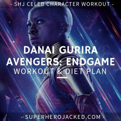 Danai Gurira Avengers_ Endgame Workout and Diet