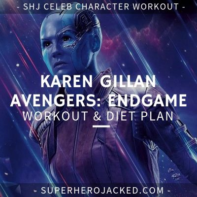 Karen Gillan Avengers_ Endgame Workout and Diet