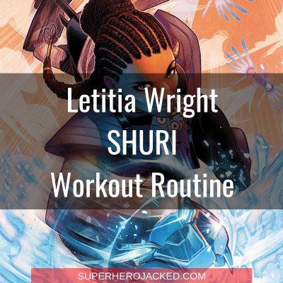 Letitia Wright Shuri Workout