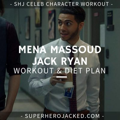 Mena Massoud Jack Ryan Workout and Diet