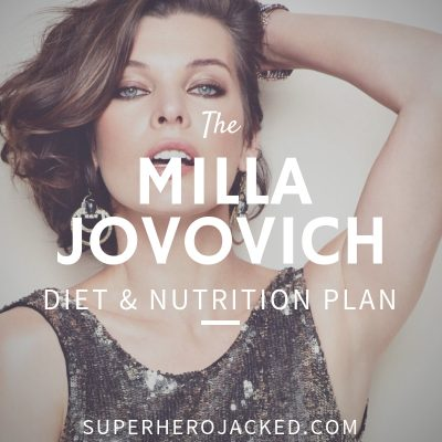 Milla Jovovich Diet and Nutrition