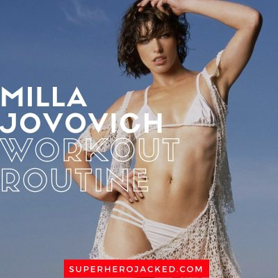 Milla Jovovich Workout Routine