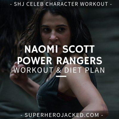 Naomi Scott Jasmine Power Rangers Workout and Diet