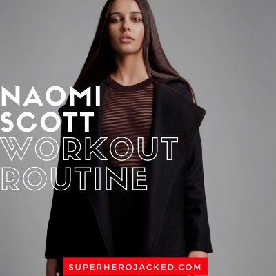 Naomi Scott Workout Routine