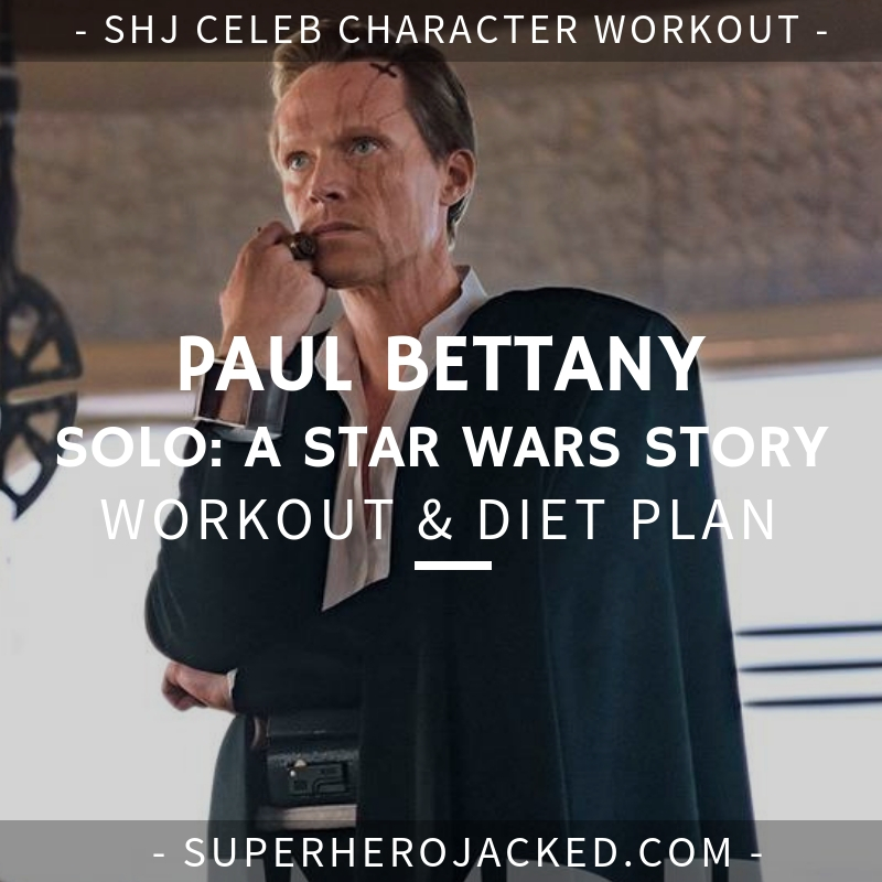 Paul Bettany Solo Workout and Diet