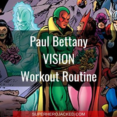 Paul Bettany Vision Workout