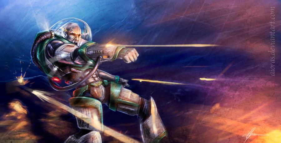 Buzz Lightyear Inspired Workout 3