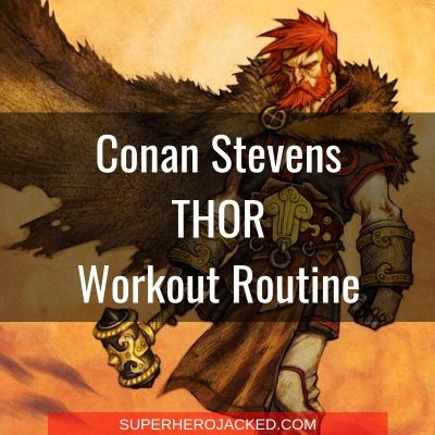 Conan Stevens Thor Workout