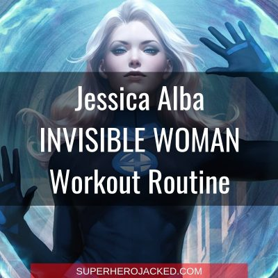 Jessica Alba Invisible Woman Workout