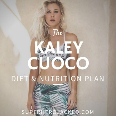 Kaley Cuoco Diet and Nutrition