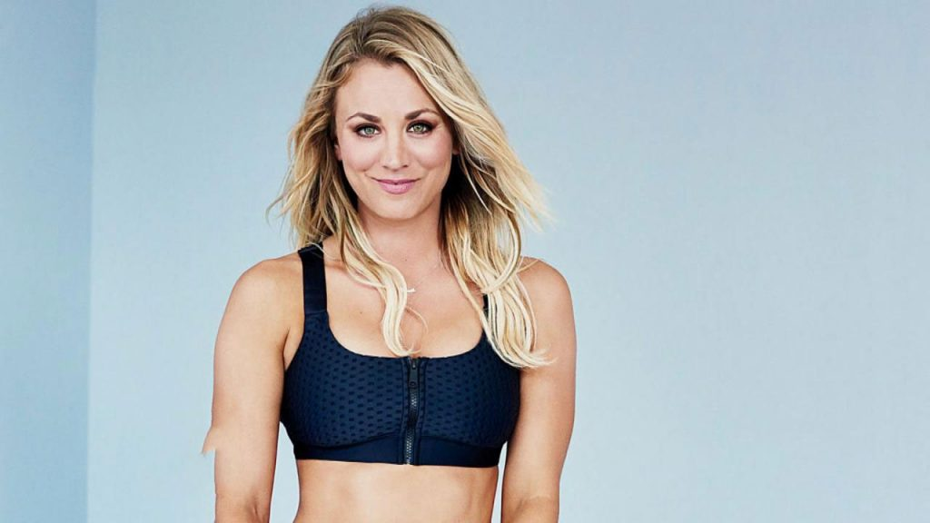 Kaley Cuoco Workout 1